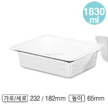 PP사각용기(DS-84/대/백색)-DS:400개